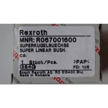 Rexroth 06  R067001600 Superkugelbuechse Super Linear Bush