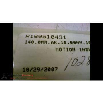 REXROTH R160510431 LINEAR GUIDE RAIL 5-1/2 IN X 11/16 IN X 5/8 IN, Origin #170891