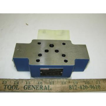 Bosch/Rexroth Hydraulic Flow Control Valve Z2FS 10-5-33 R900517812