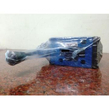 Bosch Rexroth valve with mechanical, manual and fluidic actuation 4WMM10 G3X