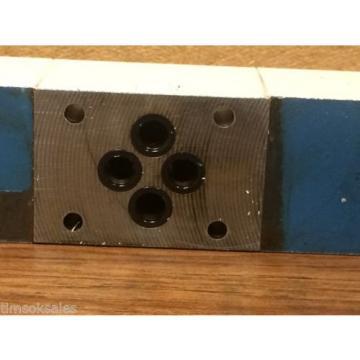 Rexroth Hydraulics 4WRA 6 W20-12/24K4/M Industrial Hydraulic Control Valve