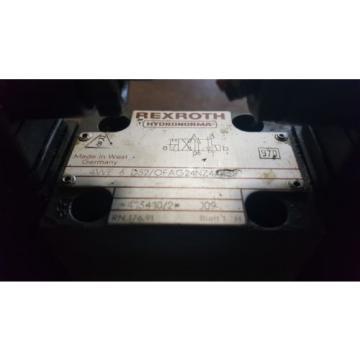 Rexroth Directional Control Valve, 4WE 6 D52/OFAG24NZ, Used, Warranty
