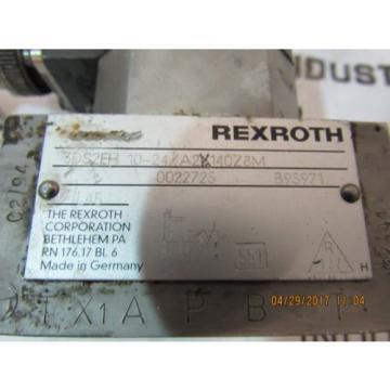 REXROTH SERVO VALVE 3DS2EH10-24/A2X140Z8M USED
