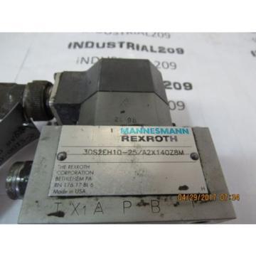 REXROTH SERVO VALVE 3DS2H10-25/A2X140Z8M USED