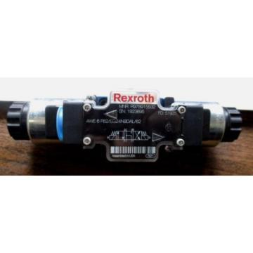 Origin REXROTH HYDRAULIC DIRECTIONAL CONTROL VALVE 4WE 6 F62/EG24N9DAL/62