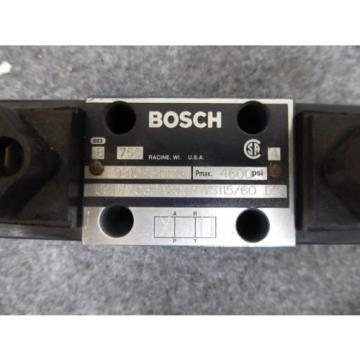 Origin BOSCH 9810231006 DIRECTIONAL VALVE # 081WV06P1V1004WS115/60 - D51