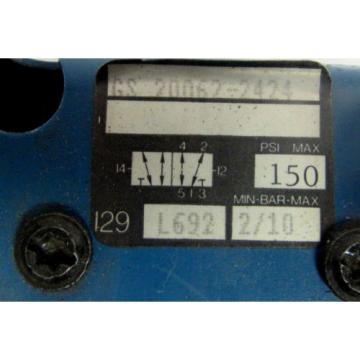 REXROTH GS20062-2424 PNEUMATIC VALVE XLNT