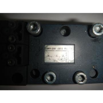 Rexroth 261-208-130-0 Pneumatic Valve