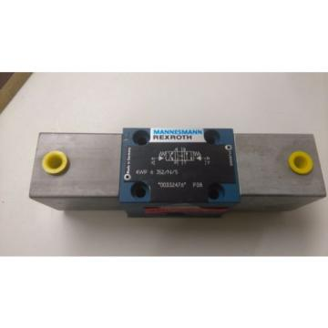 rexroth directional valve 4wp 6 j52/n/5 pneumatic controlled hydraulic valve