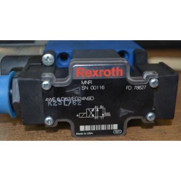 Rexroth Directional Control Valve 4WE6D62/EG24N9D FD 78627