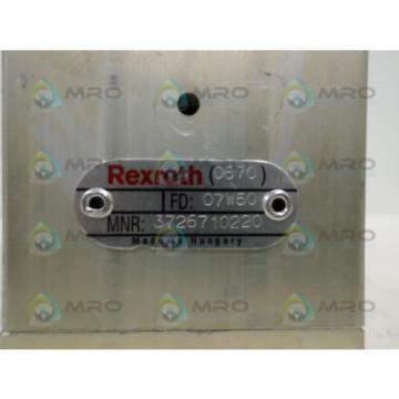 REXROTH 3726710220 SOLENOID VALVE Origin NO BOX