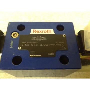 Rexroth R900590049 24 VDC Hydraulic Valve 5-4WE 10 E67-33/CG24N9K4/T06 TSC