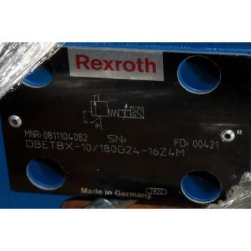 REXROTH HYDRAULIC PROPORTIONAL VALVE DBETBX-10/180G24-16Z4M NIB