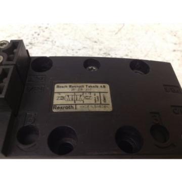 Rexroth Bosch 261-208-120-0 24 VDC Pneumatic Valve 2612081200 TSC