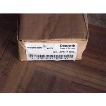 REXROTH POWERMASTER VALVE P-066691-00001 Origin