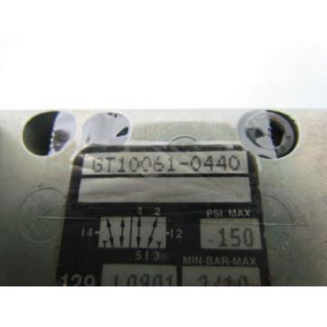 Rexroth Ceram GT10061-0440 2-Position Solenoid Valve 24VDC 27W 150 PSI