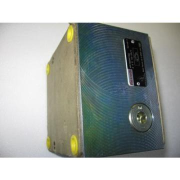 Rexroth Hydraulic Flow Control Valve R900427362 Z4S 16-20/V -- origin