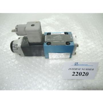 3/2 way valve Rexroth  3WE 6 A53/AG24NZ4, Demag used spare parts