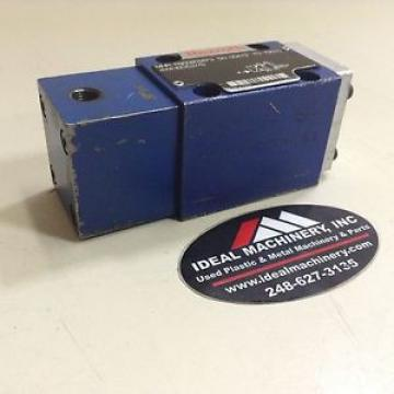 Rexroth Hydraulic Valve 4WH6D52/5 Used #85591