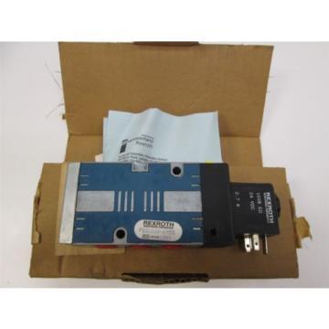 origin Rexroth PS31010-6955 CD-7 Solenoid Valve 1/4 NPT, 24VDC 150 PSI, 2 Pos 4-Way