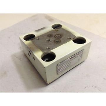 Rexroth Valve Block LFA25GWA-62/A/12/12 Used #68328