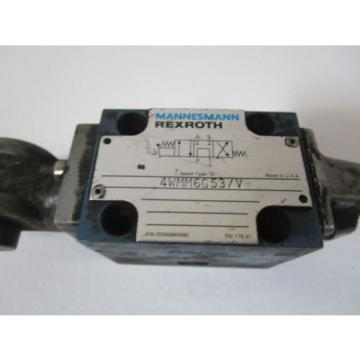 REXROTH VALVE 4WMM6G53/V USED