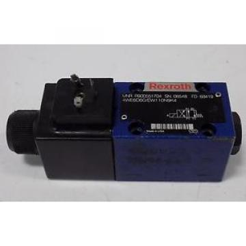 REXROTH SOLENOID VALVE 4WE6D60/EW110N9K4 R900551704