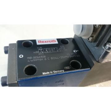 Rexroth 4WRPNH 6C B24L-20/M/24PF6G, Servovalve, High-response valve IAC-R