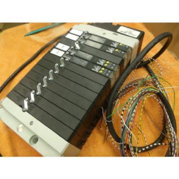 REXROTH PNEUMATIC CONTROL VALVE Bank R480714443 24 vdc
