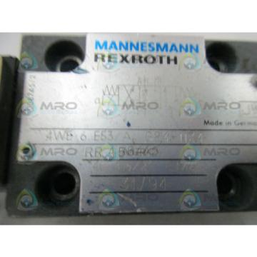 REXROTH 4WE6E53/AG24-NZ4 VALVE USED
