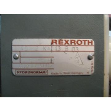 Rexroth Hydraulic Mobile Valve Check Q Meter LOT of 2  Hydronorma  PN# FD-12-KA