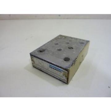 Mannesmann Rexroth Hydraulic Valve ZDR6DP0-40/40YMW80 Used #65638