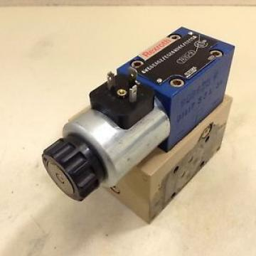 Rexroth Valve 4WE6EA62/EG24N9K4/62CSA Used #80621
