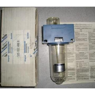 origin Mannesman Rexroth 535032400 Filter Regulator Lubricator Valve 1/2#034; NPT 16bar