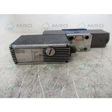 REXROTH 4WRSE-6-V10-31/G24K0/A1V PROPORTIONAL VALVE USED