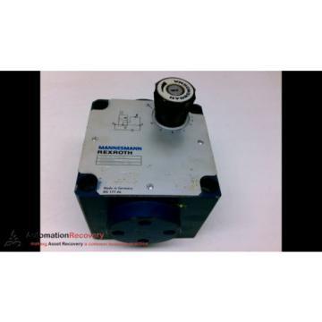 REXROTH 2FVR 16 PD10/80 RACINE VALVE #198974