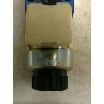 Origin Rexroth 4 WE 6 E62/EG24N9J4/ZV Directional Valve 24VDC 125A Solenoid