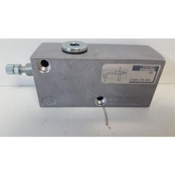 GUARANTEED GOOD USED BOSCH PNEUMATIC VALVE 0-820-215-003