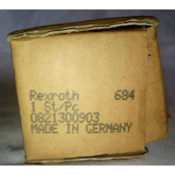 Rexroth 3/2 Shut Off Valve Mechanically Operated, 0821300903 origin