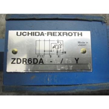 Origin UCHIDA REXROTH PRESSURE CONTROL VALVE # ZDR6DA2-A1/75YL-6Y