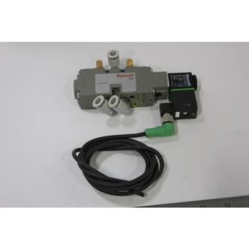 UNUSED REXROTH PNEUMATIC DIRECTIONAL VALVE WITH 24VDC COIL 9180 0820 022 991