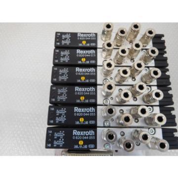 Rexroth VTS 02 KT KTF , 6x rexroth 0820044055 Valve, Valve terminal unused