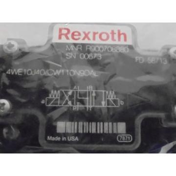 REXROTH, DIRECTIONAL CONTROL VALVE, R900708880, FD58713, 110/120VAC, 50/60HZ