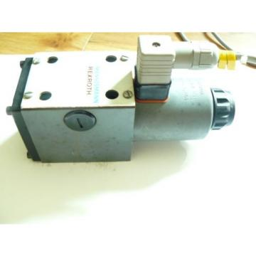 Mannesmann Rexroth 4WE10EA30/CG24N9Z4 Solenoid Operation Valve Wired