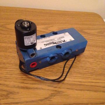 REXROTH POWERMASTER PT34104-8500 PNEUMATIC DIRECTIONAL VALVE