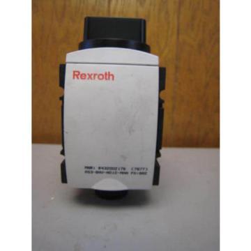Rexroth R432002176 Manual Valve AS3-BAV-N012-MAN FREE SHIPPING