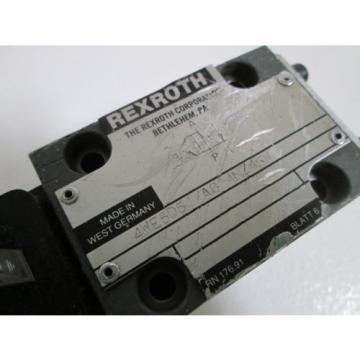 REXROTH HYDRUALIC VALVE 4WE6D51/AG24NZ45V USED