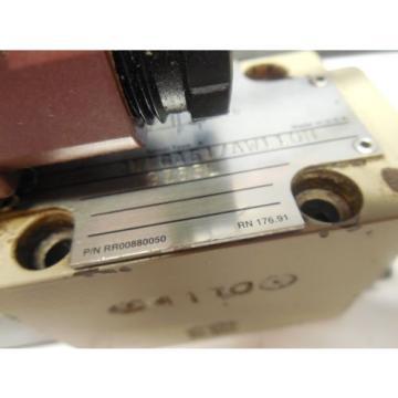 REXROTH SOLENOID VALVE 3WE6A51/AW110N 9Z55L w/ WU35-4-A 304