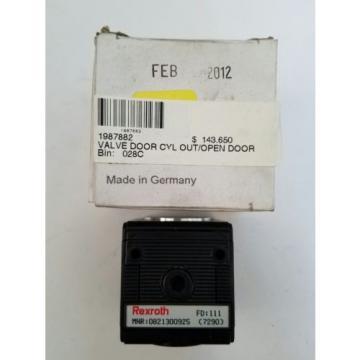 0821300925 REXROTH BOSCH PNEUMATIC FILLING VALVE NL2 G1/4 BLUE BIRD 1987882