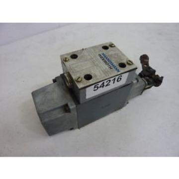 Mannesmann Rexroth Solenoid Valve 5-4WMRC10X70-31/YAW Used #54216